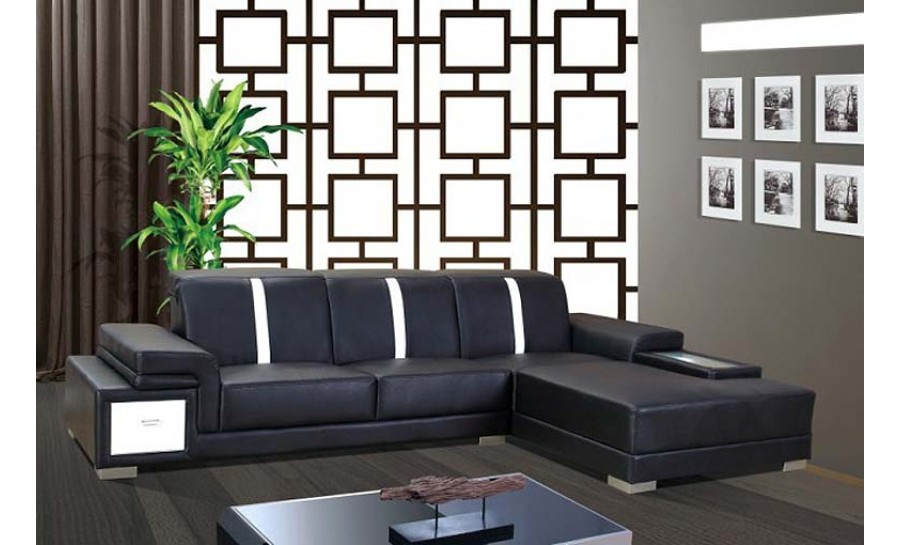 Urban Leather Sofa Lounge Set