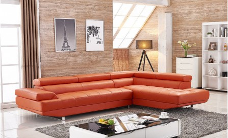 Kenny Leather Sofa Lounge Set