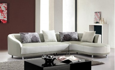 Jona Leather Sofa Lounge Set