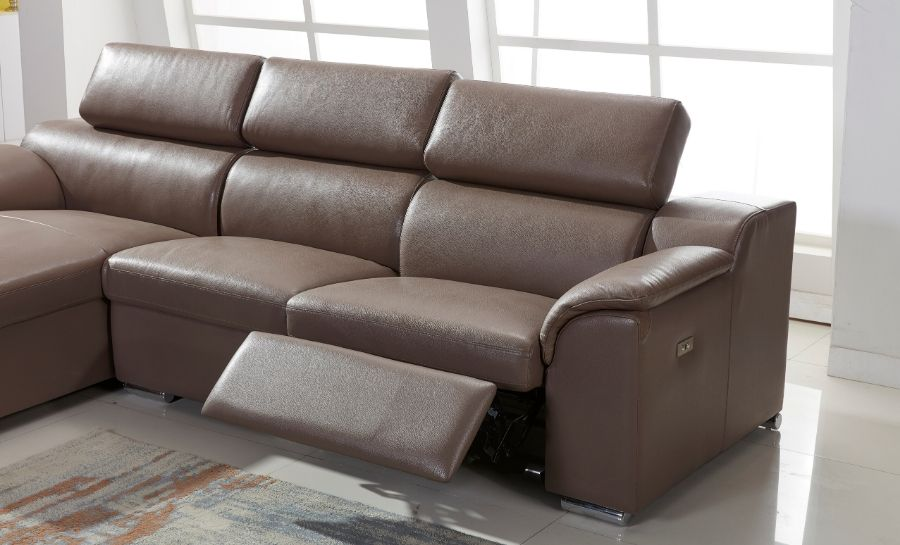 London Leather Recliner Sofa Lounge