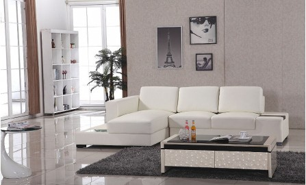 Park Ave Leather Sofa Lounge Set