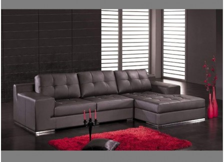 Library Leather Sofa Lounge Set
