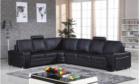Indivi Leather Sofa Lounge Set