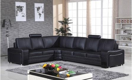 Indivi Leather Sofa Lounge Set