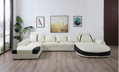 Pescara Leather Sofa Lounge Set