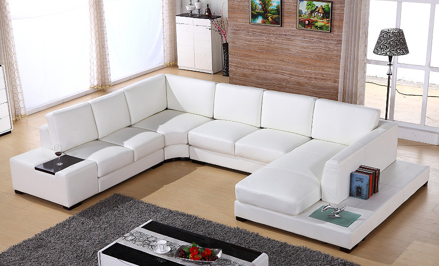 Bradford Leather Sofa Lounge Set