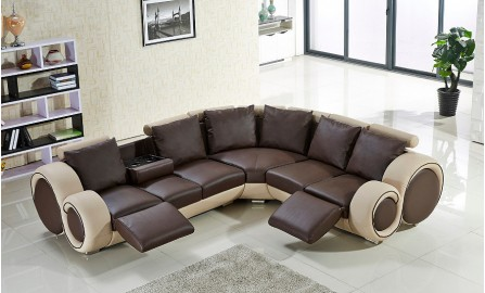 Apollo Leather Sofa Lounge Set