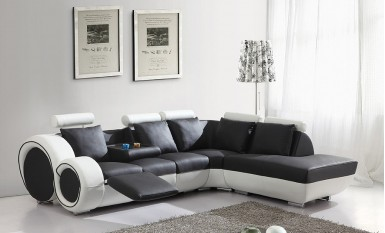 Daytona Leather Sofa Lounge Set