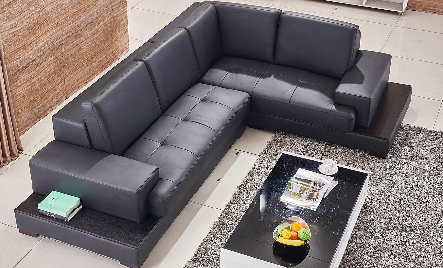 Preston Leather Sofa Lounge Set
