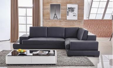 Preston Leather Sofa Lounge Set