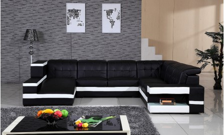 Matilda Leather Sofa Lounge Set