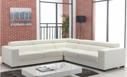 Eden Leather Sofa Lounge Set