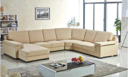Dona Leather Sofa Lounge Set