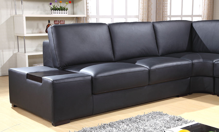 Glen Leather Sofa Lounge Set