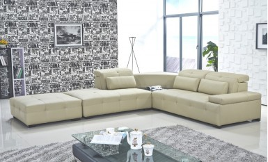 Premier Leather Sofa Lounge Set