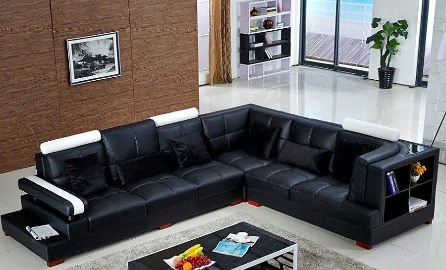 Malone Leather Sofa Lounge Set