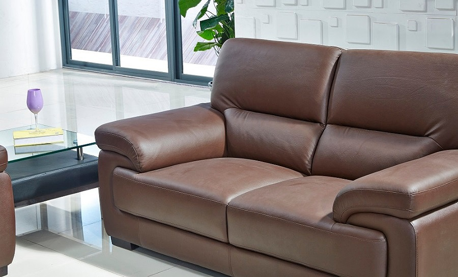 Mia Leather Sofa Lounge Set