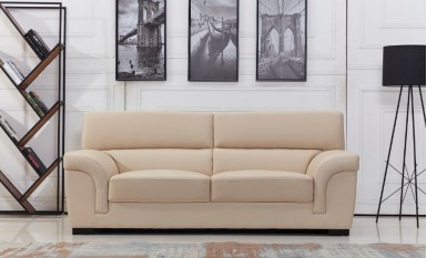 Logan 3 Seater Leather Sofa