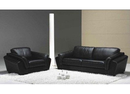 Sonia Leather Sofa Lounge Set