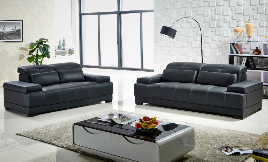 Mayo Leather Sofa Lounge Set
