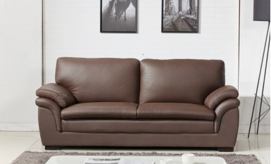 Terni 3 Seater Leather Sofa