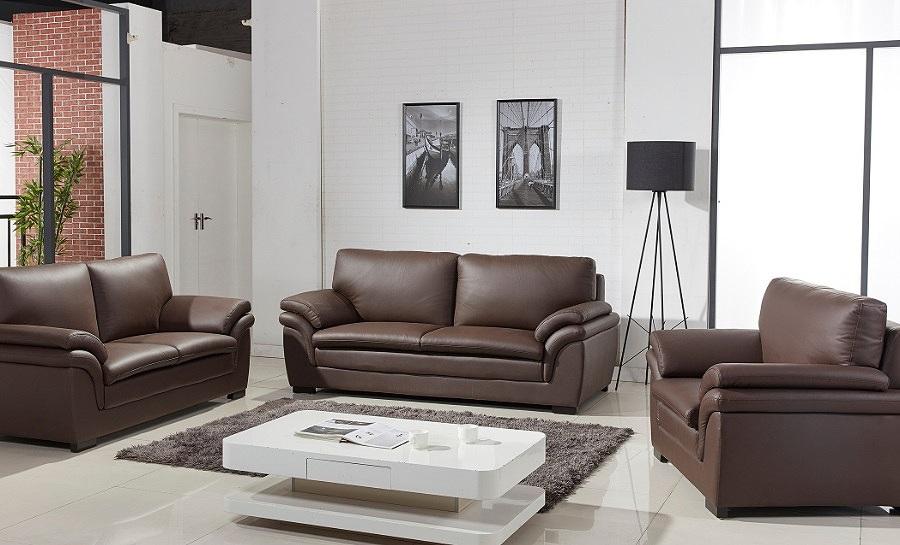 Terni Leather Sofa Lounge Set