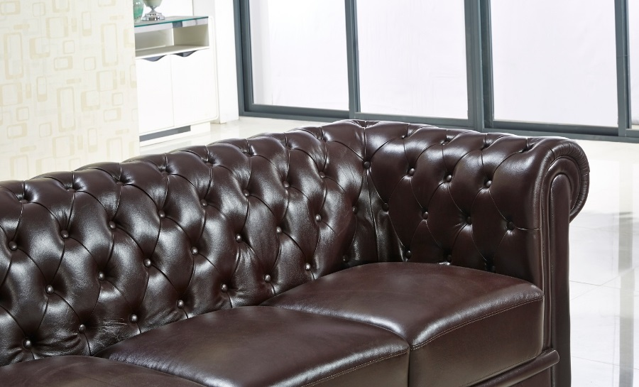 Europa Leather Sofa Lounge Set