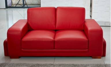 Kolding 3 Seater Leather Sofa
