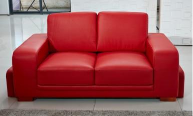 Kolding 3 Seater Leather Sofa