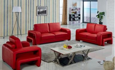 Kolding Leather Sofa Lounge Set