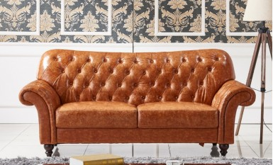 Descent Leather Sofa Lounge Set