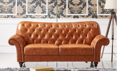 Descent Leather Sofa Lounge Set