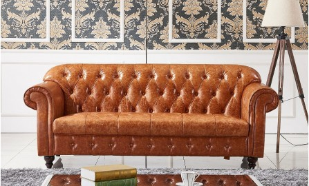 Flink Leather Sofa Lounge Set