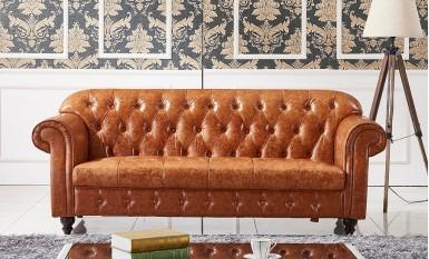 Flink Leather Sofa Lounge Set