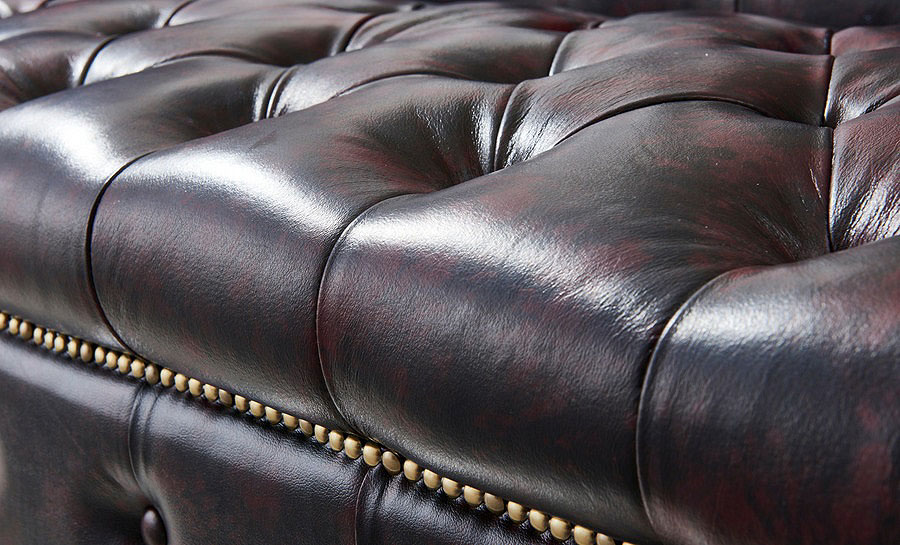 Belly Leather Sofa Lounge Set