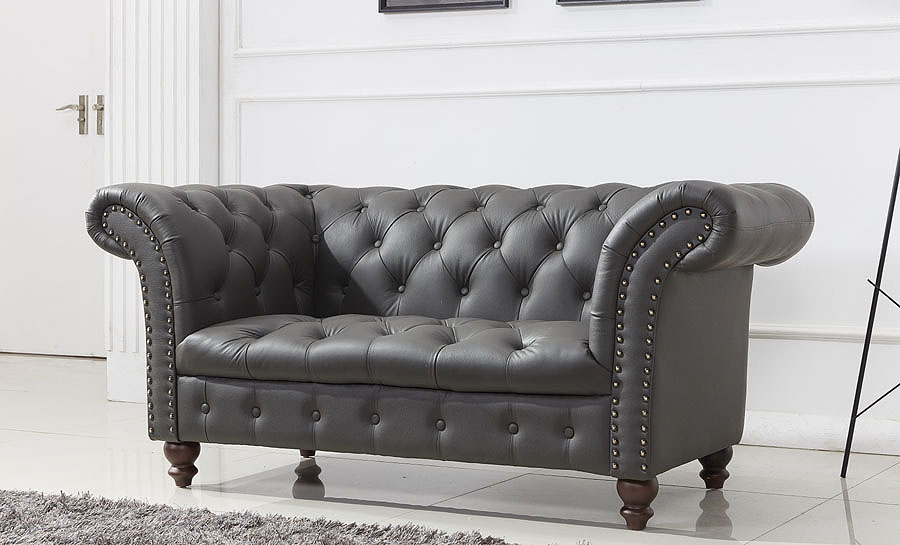 Oak Flower B - Leather Sofa Lounge