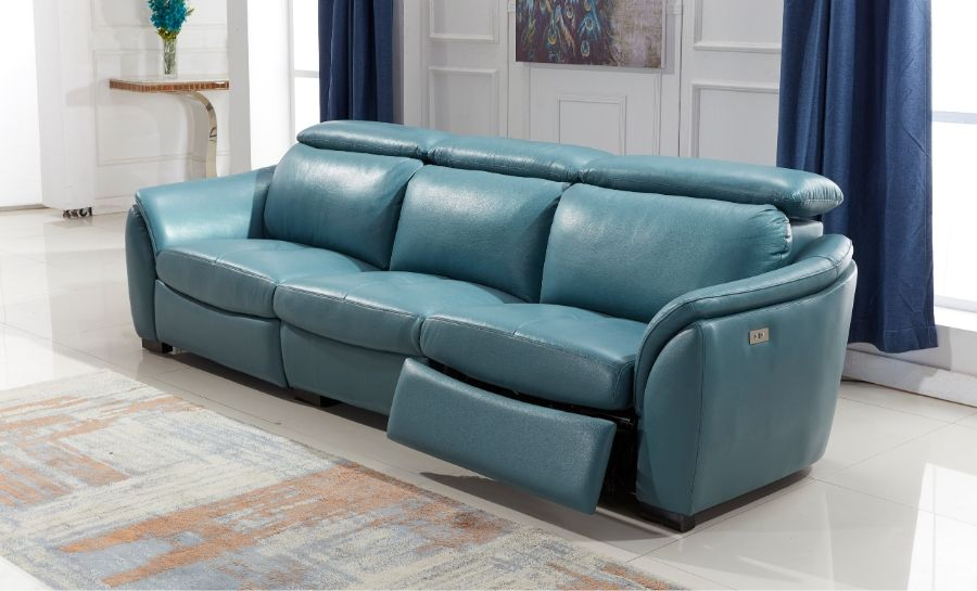 Everett Leather Recliner Sofa