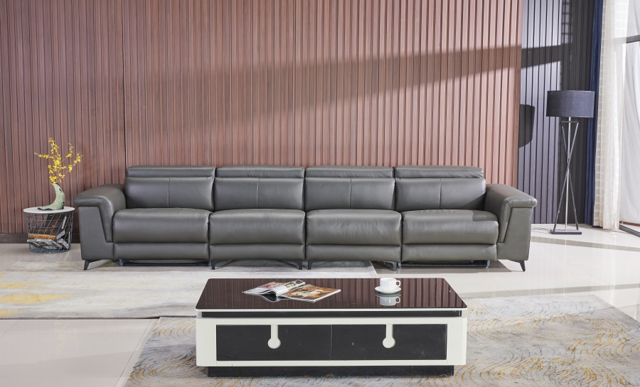 Rex (B) Leather Recliner Lounge