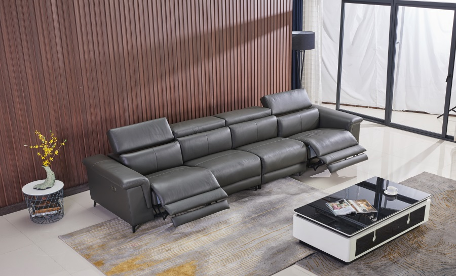Rex Leather Recliner Lounge