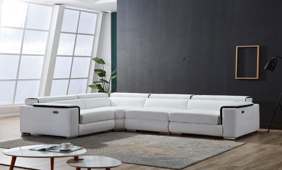 Wiggum Leather Corner Lounge