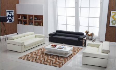 Majestic Leather Sofa Lounge Set