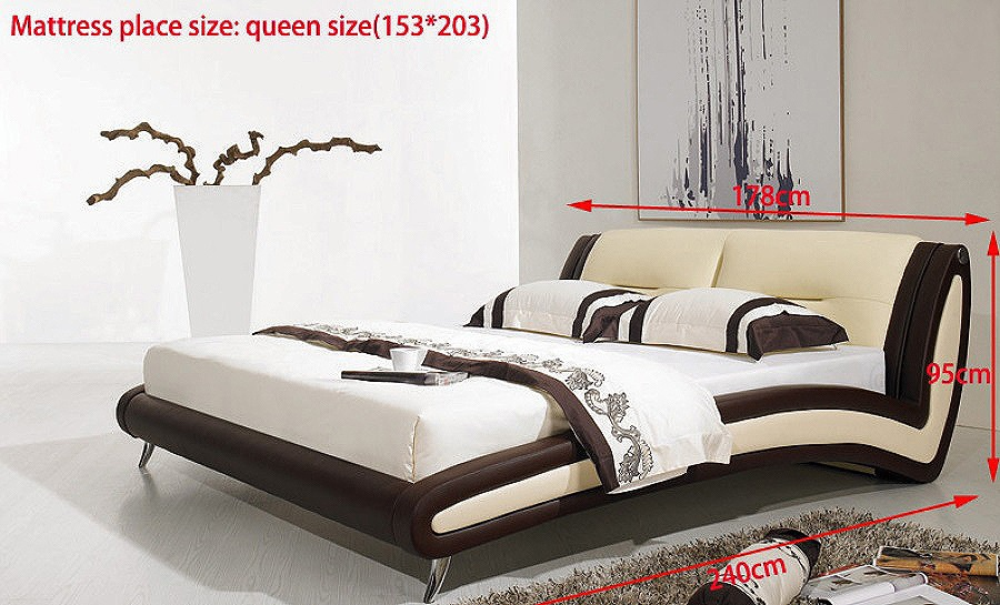Leather Bed- Model 2