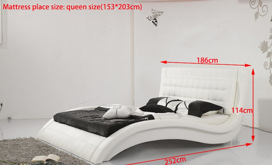 Leather Bed- Model 15