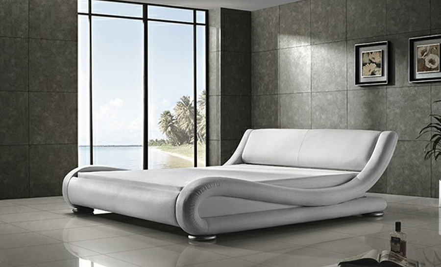 Leather Bed- Model 20