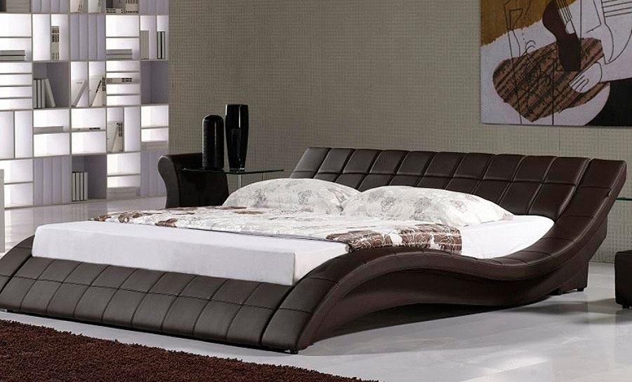 Leather Bed- Model 22