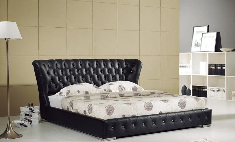 Leather Bed- Model 28