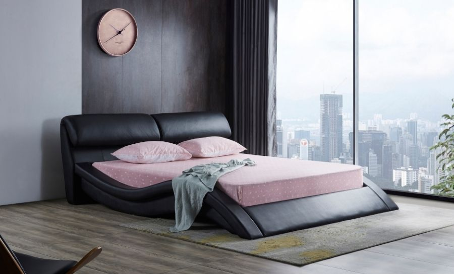 Leather Bed - Model 32