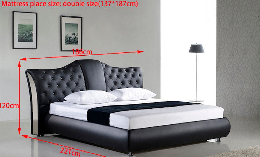 Leather Bed- Model 40