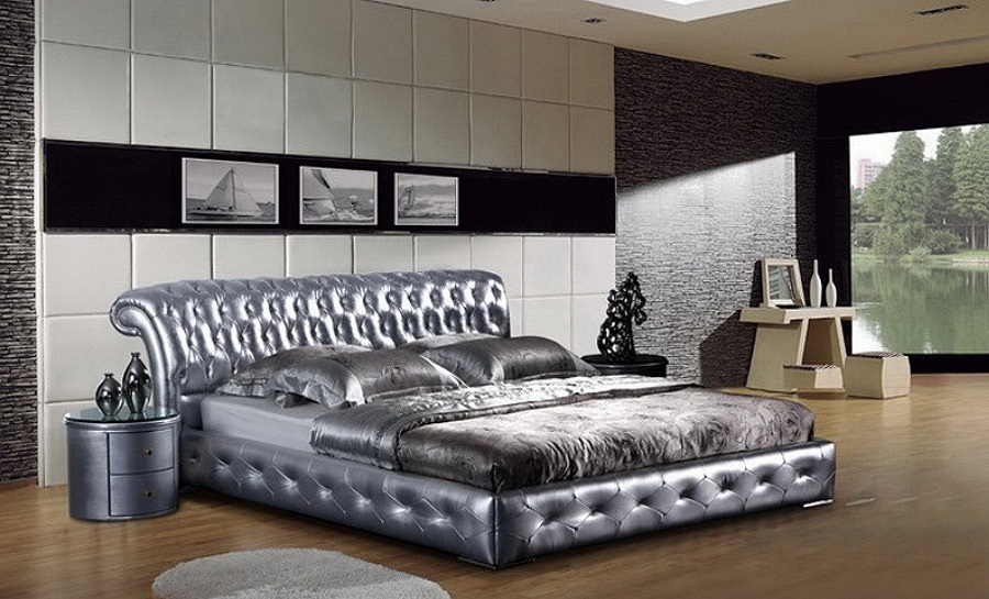 Leather Bed- Model 46
