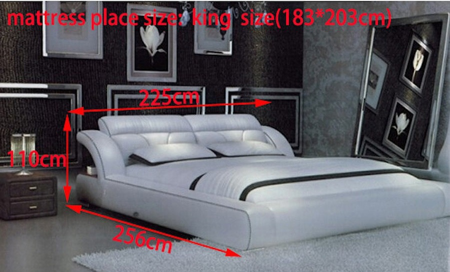 Leather Bed- Model 91